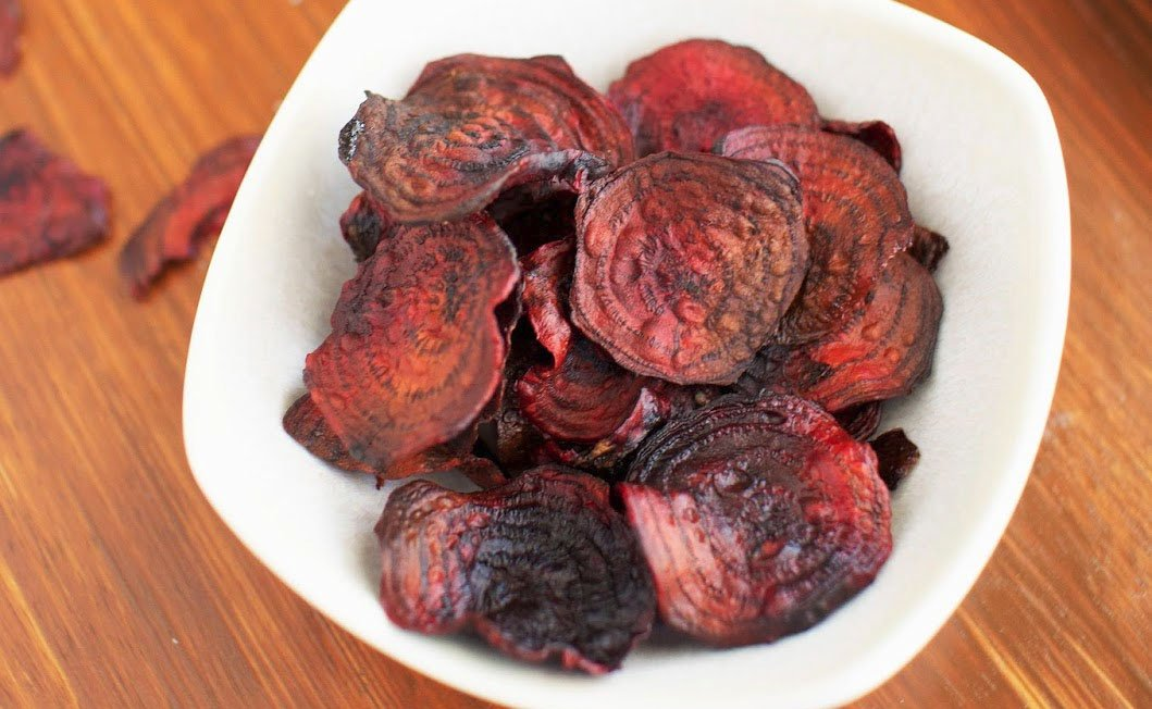 Heal n Cure - Baked beet chips