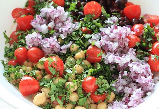 Heal n Cure - Fiesta Bean Salad
