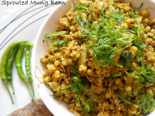 heal n cure sprouted mung bean recipe